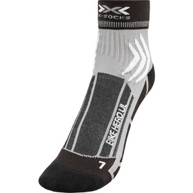 X-Socks Bike Hero UL Chaussettes, black print
